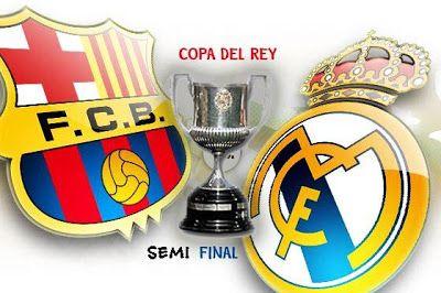 BARCELONA VS REAL MADRID DI COPA DEL REY