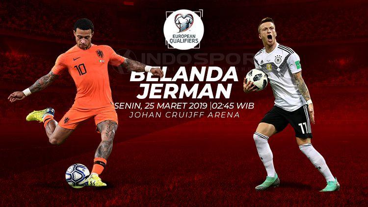 BELANDA VS JERMAN DI KUALIFIKASI EROPA 2020