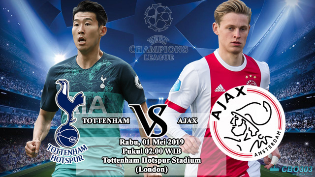 Liga Champions Totten Hotspur VS Ajax Amsterdam