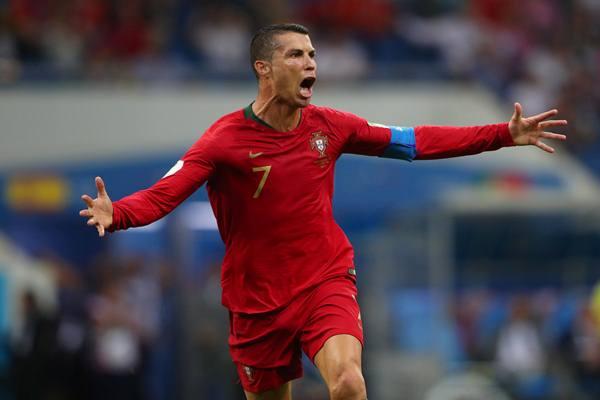 Ronaldo dalam seleksi Portugal untuk putaran final UEFA NATIONS LEAGUE