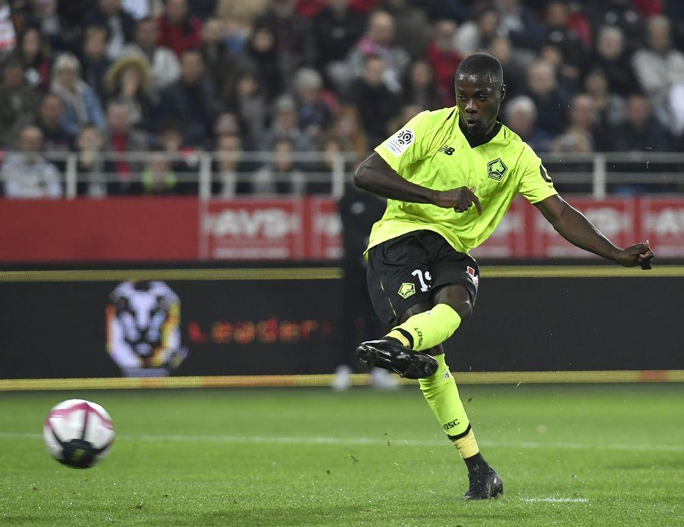 Club Liga Inggris Manchester United Tertarik Untuk Mendapatkan Jasa Sang pemain Nicolas pepe