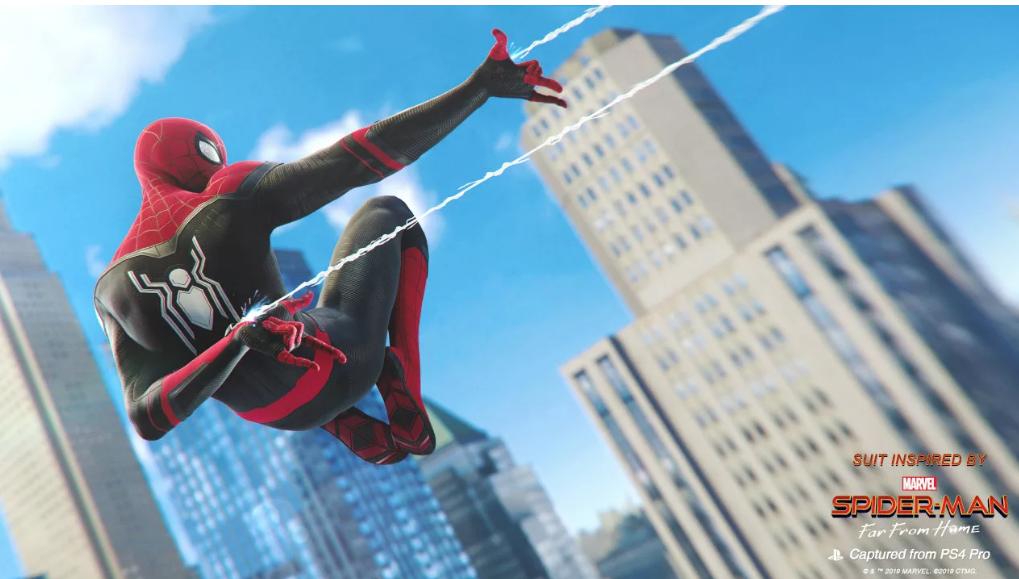 Spider-Man PS4 Menambahkan Dua Kostum Dari Far From Home