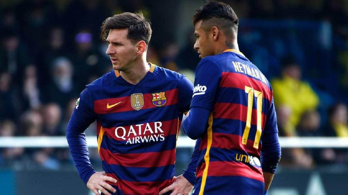Messi Berharap Neymar Kembali