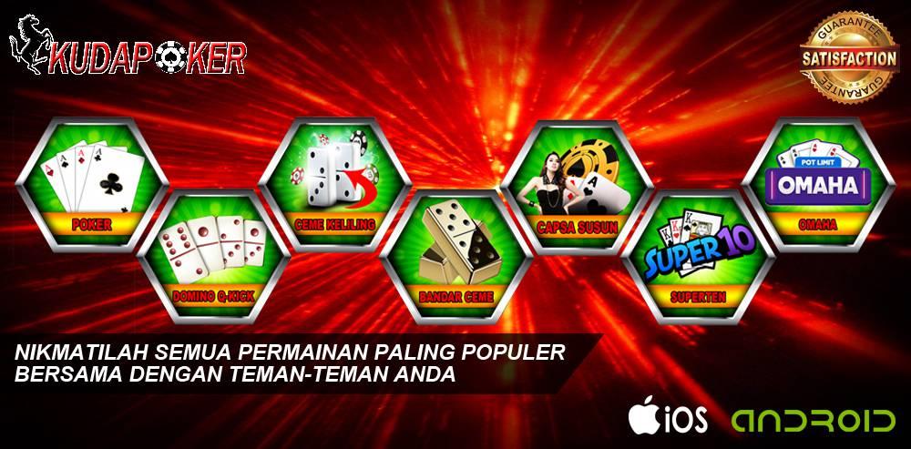 Pokerkuda.net Situs Poker Terpercaya Dengan Berbagai Keunggulan