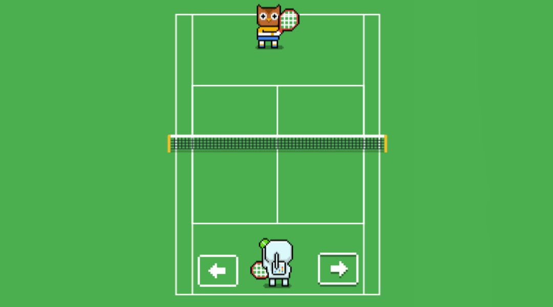 Cara Bermain Google Tennis Game Tersembunyi